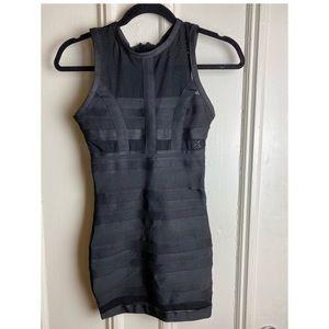 Little black dress- bondage dress